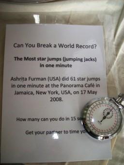 star jumps challenge