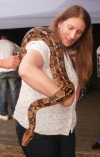 I obviously can't talk to snakes... it's escaping!